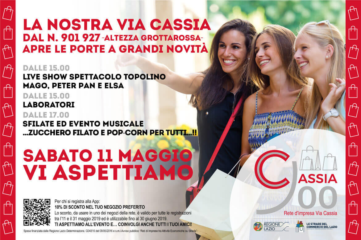 evento cassia900 programma e coupon